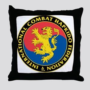 Combat Hapkido Throw Pillow